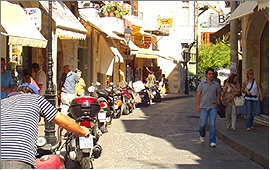 Rethymnon: Arkadiou Street